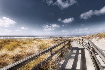 Ein Tag am Strand von Sylt. von Voss Fine Art Photography