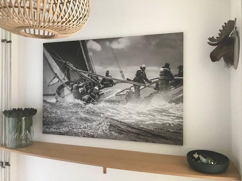 Klantfoto: Skûtsje Leeuwarden van ThomasVaer Tom Coehoorn