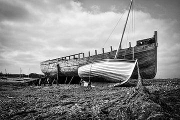 Low tide harbor von Frank Hensen
