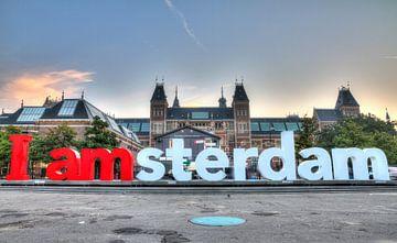 I AMSTERDAM sur Dennis van de Water