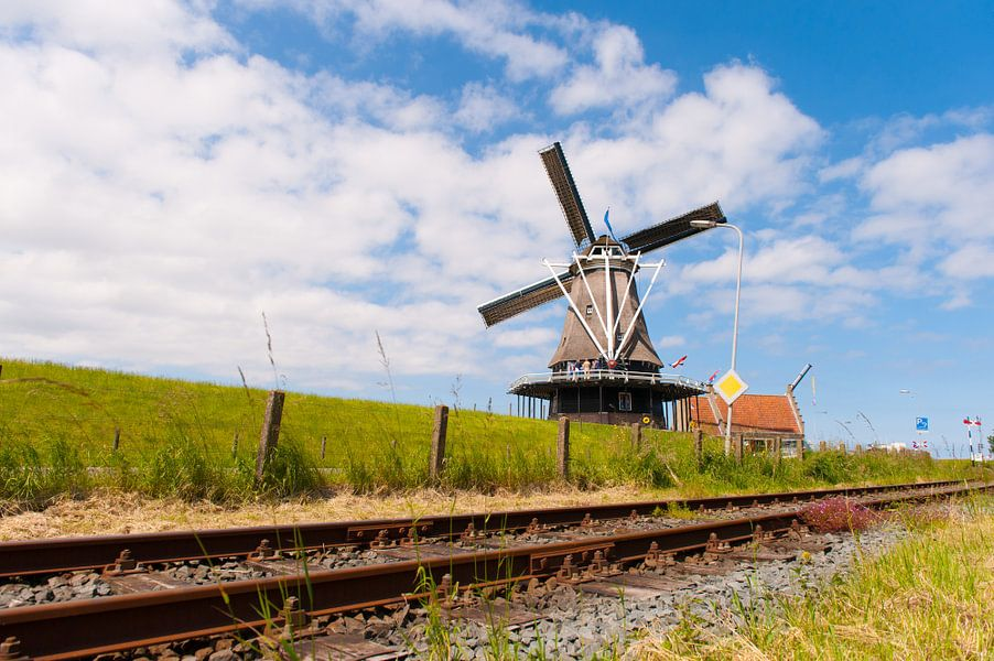 Tracks to a Windmill