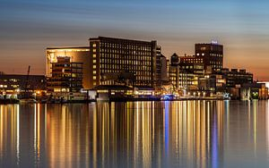 Meneba fabriek in Rotterdam van