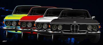 BMW 3.0 CSI (Typ E9) von aRi F. Huber