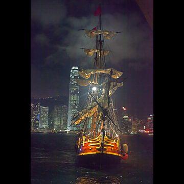 Zeilschip - Hong Kong van t.ART
