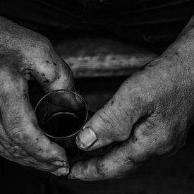 Arbeiterhände von Fabian Roessler