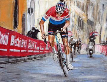 Van der Poel gewinnt Strade Bianche von Paul Smit