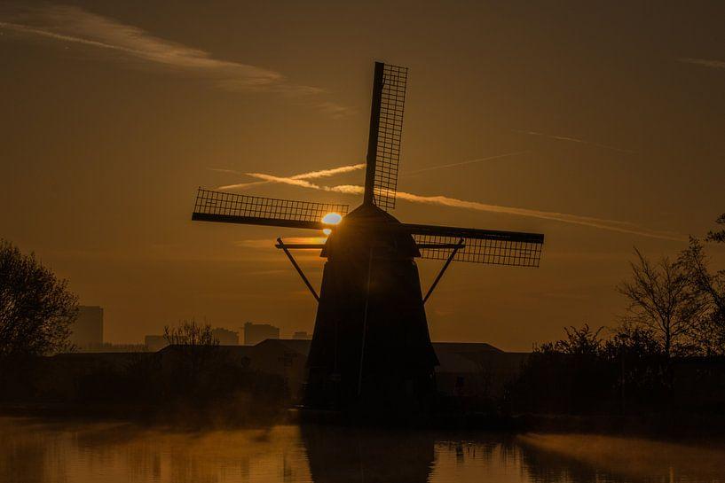De Zwaan, Molen van Ouderkerk aan de Amstel van Kevin Nugter