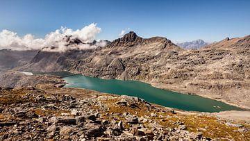 Mölltaler Gletscher stuwmeer van Rob Boon