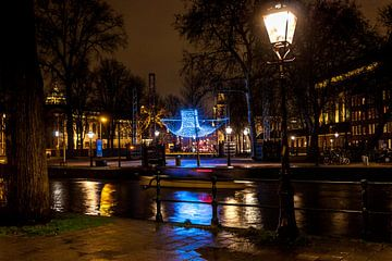 Parabolic Lightcloud in Amsterdam van Stephan Neven