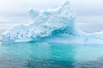 ijsberg Groenland 2 van Jan Molenveld