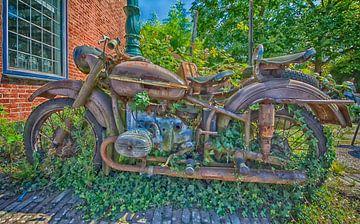 Vergane motor glorie van Peter Bartelings Photography