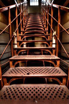 Eingerichtete Treppe von Kirsten Scholten