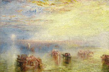 Anfahrt nach Venedig, Joseph Mallord William Turner von