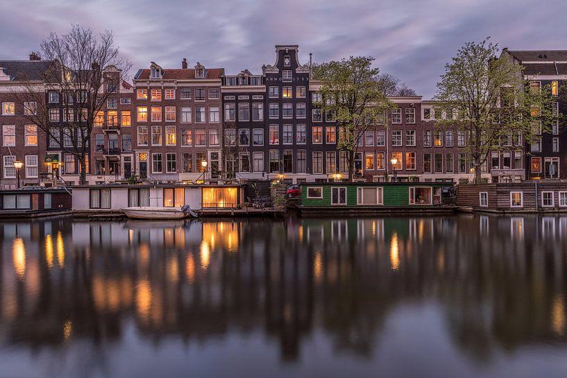 Nieuwe Herengracht Amsterdam van Dennisart Fotografie