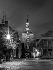 Vianen bij nacht  van Marlous en Stefan P.