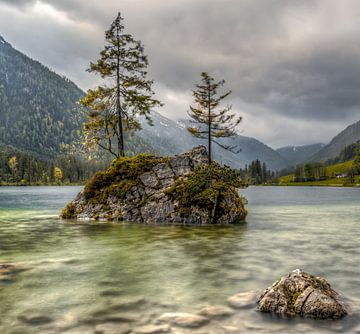 Hintersee in Berchtesgadener Land van Maurice Meerten