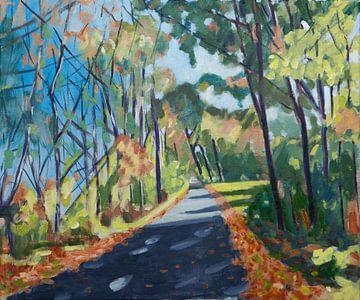 Herbst von Antonie van Gelder Beeldend kunstenaar