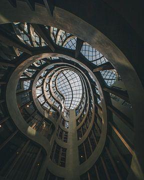 Architectuur op zijn best in abstracte vorm van MAT Fotografie