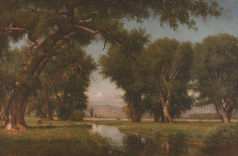 Worthington Whittredge - Verstecken Sie das Pulver des Colorado River von finemasterpiece