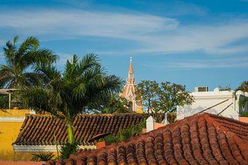 Dächer von Cartagena von Koen Boelrijk Photography