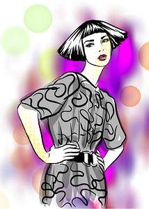 Pop Style Modeillustration