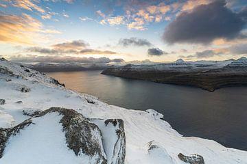 Faeröer Sneeuw van Stefan Schäfer