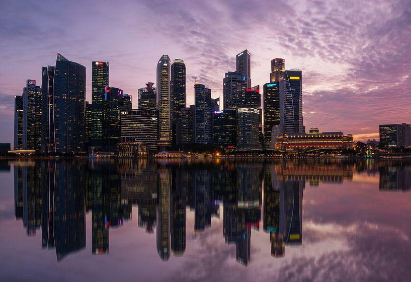 Singapore reflections van Ilya Korzelius