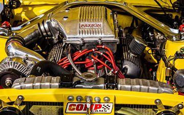 Mustang-Motor von Stijn Cleynhens