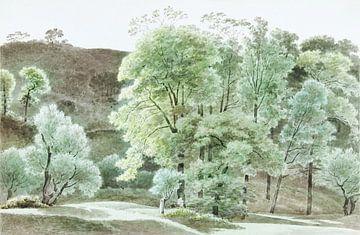 Bäume in der Nähe von Subiaco, Joseph August Knip von Atelier Liesjes
