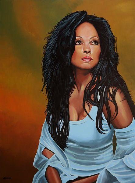 Diana Ross schilderij