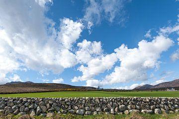 Traditioneel Iers muurtje van Peter Schütte
