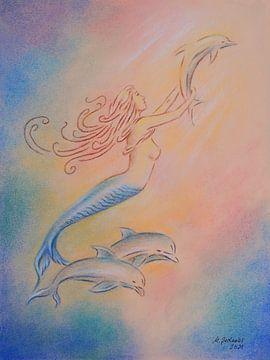 Dolfijnen engelen en genezers van de zeeën van Marita Zacharias