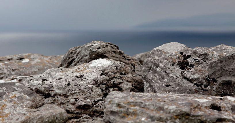 Ierse rotskust bij Inisheer van Mieneke Andeweg-van Rijn