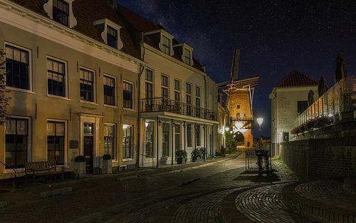Oud Wijk Bij Duurstede - Dorestad bei Nacht