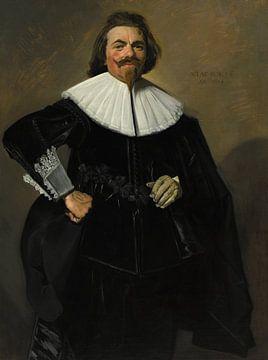 Porträt von Tieleman Roosterman, Frans Hals