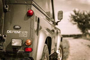 The iconic Land Rover Defender