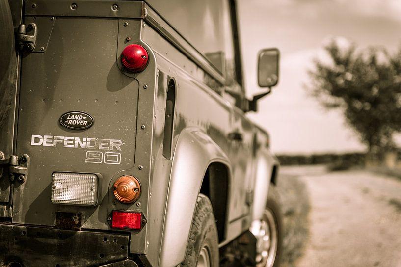 Land Rover Defender van Wim Slootweg