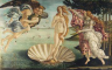 Pixel Art: The Birth of Venus sur Olaf Kramer