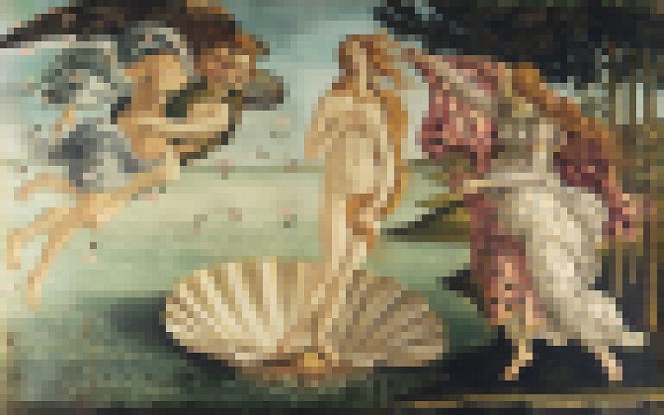 Pixel Art: De Geboorte van Venus