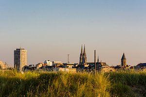 Skyline Oostende van