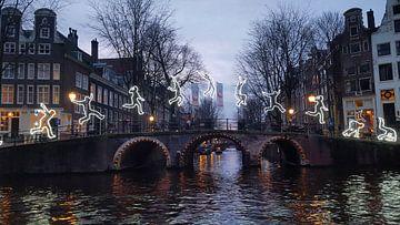 Amsterdam Light Festival  van Elise Croese
