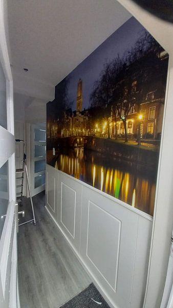 Kundenfoto: Zandbrug und Oudegracht Utrecht von Donker Utrecht