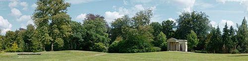 Het Capitool, theehuis op Landgoed Schaep en Burgh in 's-Graveland van Martin Stevens