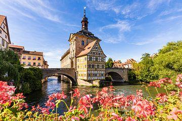 Altes Rathaus in der Altstadt von Bamberg von Werner Dieterich