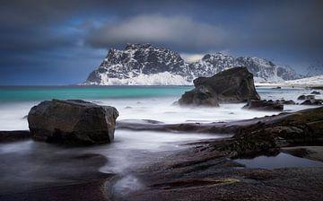 Uttakleiwer Felsenküste von Wojciech Kruczynski