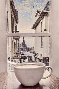 Kaffeezeit in Groningen von Elianne van Turennout