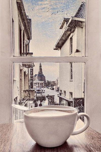koffietijd in Groningen van Elianne van Turennout