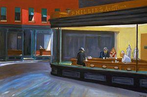Nachtschwärmer (Nighthawks) - Edward Hoppers
