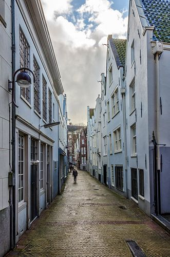 Gedempte Begijnensloot in Amsterdam.