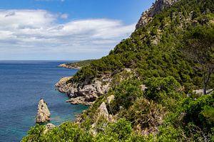 Ses Caletes baai in het noordoosten van Mallorca